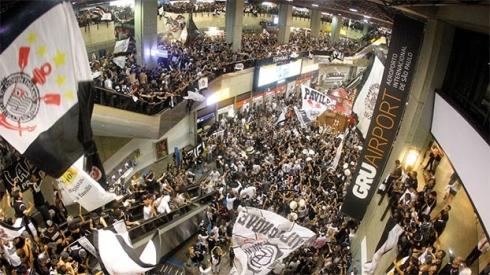 Corinthians aeroporto